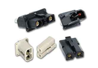 Enhanced connector series distributes high current DC power