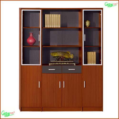 Wooden Storage Cabinet With Glass Door Fhf1606 Wooden Storage