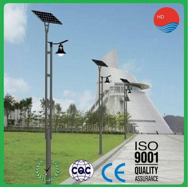 Factory High Quality 20W Solar Garden Lighting Pole Light (HDTYD)