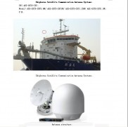 Shipborne Satellite Communication Antenna Systems