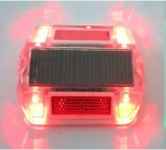 Solar PC Road Stud with 4leds Flashing Light