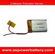 502030 Lipo  Battery  3.7v 250mah For  Digital  Pr Manufacturer