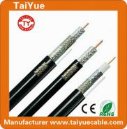 Low Loss For CCTV RG6  Coaxial Cable  Manufacturer