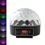 10W  LED  Magic  Ball  Stage  Light  With Remote C Manufacturer