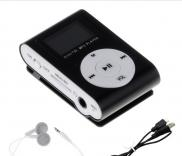 Mini Clip Mp3  Player  With  LCD  Display Screen S Manufacturer