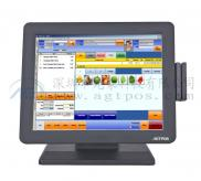 15'' With MSR  Touch  Screen  Monitors  Manufacturer