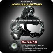 Goldrunhui RH-H0081 Multi-Bulb  Head Lamp  CREE XP Manufacturer
