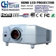 50000hrs 2200 Lumens Mini  LCD LED  Projector For  Manufacturer