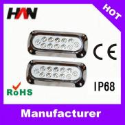 IP68 Stainless Steel  High Power Led  Underwater   Manufacturer