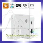 Wholesale  Mini  LED Portable White MP3 Music Cine Manufacturer
