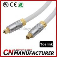 New Product 6ft Premium Toslink Fiber  Optic Cable Manufacturer