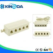 15' Ivory 5-Outlet Extension,  Junction Box  Style Manufacturer
