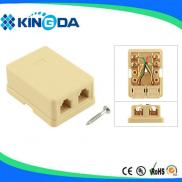 2 Ports Telephone Terminal  Junction Box  Manufacturer