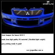 Poly Urethane Front Bumper Lip Spoiler For Lancer  Manufacturer