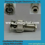 Mini BNC Male  Coaxial  Connector Clamp For RG174  Manufacturer