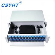 Slidable Type, Fiber Optic Patch Panel ,with 96 Co Manufacturer