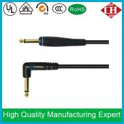 Black Guitar To Amplifier Cable 10
