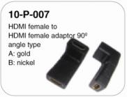 Fashinable New Style Gold HDMI Cable(double Color  Manufacturer