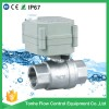 2 Way NSF61 ss304 motorized water ball Valve Manufacturer