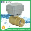 2 Way brass Motorized Ball Valve for water leaking Manufacturer