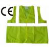 Green Safety Traffic Security Reflective Jacket wi Manufacturer