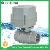 3/4'' Motorized Stainless Steel 304 ball Valve (T20-S2-C)