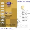 Hotel Contact IC Card with Magnetic Strip Manufacturer