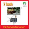 7inch TFT  LCD Module  with Analog Input Manufacturer