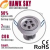 3W/ 5W /7W/9W Simple Style Warm White Cree LED  Ce Manufacturer