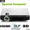 2013 Newest 3D Mini Beamer,  DLP  Educational  Pro Manufacturer