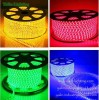 220V LED Ribbon Lighting, RGB Holiday Rope Lights, Decorative 5050SMD Strip Light