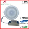 85-265V 4inch  15W  Dimmable  LED Downlight ,IP44  Manufacturer