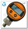 2.5inch  63mm Plastic Case Water Digital Pressure Manufacturer
