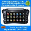 Ouchuangbo  Car  Multimedia  GPS  System For Hyund Manufacturer