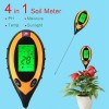 Digital Four In ONE Soil  PH Meter  Price with Lon Manufacturer