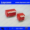 Pitch 2.54mm 02-12PIN Piano Type  Dip Switch  with Manufacturer