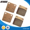 Sintered Atv Motorcycle Bicycle  Brake Pads  Manufacturer