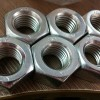 Zinc Coated Hex Head Nuts