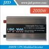 2kw/2000W Solar/Wind Power Inverter DC12V/24V To AC220V/2000W Modified Power Inverter