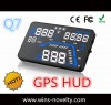 5.5 Inch Large Screen  GPS  Q7  Car  Hud Head Up D Manufacturer