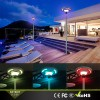 High Brightness Solar Color Changing Holiday Lighting Plazza Street Lamp Outdoor Lighting
