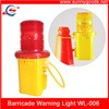 Vehicle Security Traffic Cone Yellow LED Warning L Manufacturer