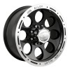 Alloy 174 Black Beadlock Wheel (15X8