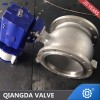 Api608 V Port Flanged Ball Valve Fs Fb Lv Op