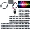 12 Piece 3 Size LED Strip with Sound Control and 4 Manufacturer