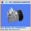 Excavator Spare Parts,PC220-6 Air  Compressor  20Y Manufacturer