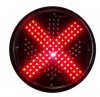 300mm IP55 Red Cross and Green Arrow Traffic Signa Manufacturer